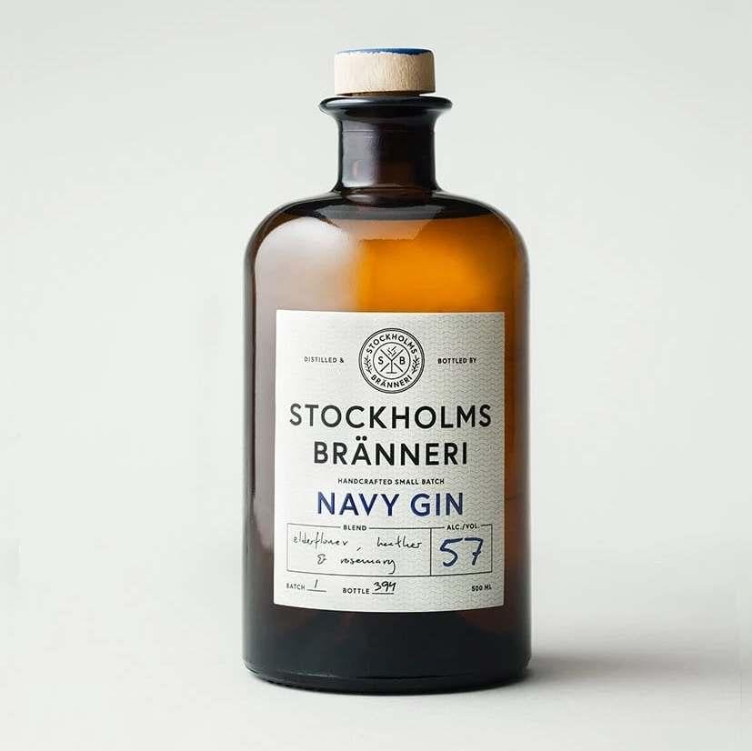 Stockholms Bränneri Navy Strength Gin