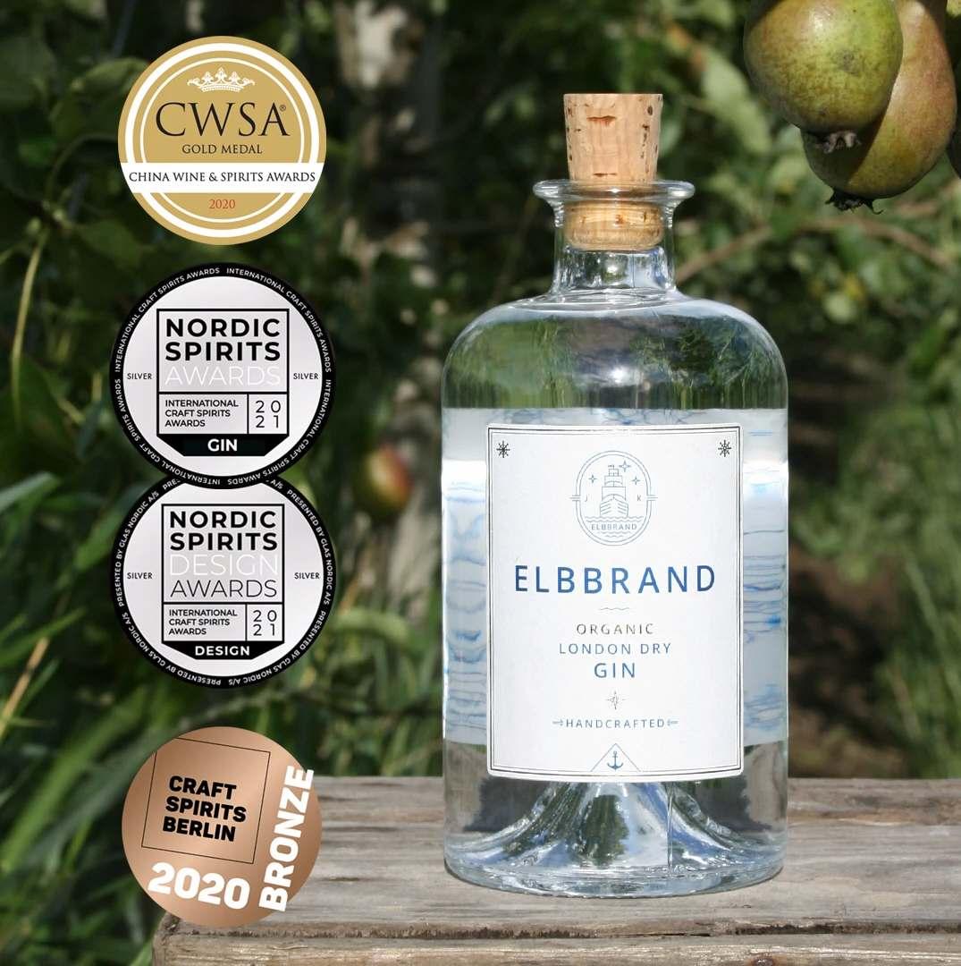 Bio Elbbrand London Dry Gin